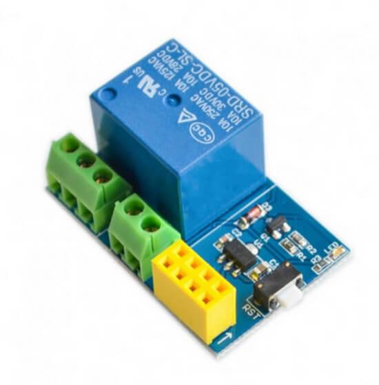 Adaptador ESP8266 ESP-01 - Relé 5V 10A de 1 Canal