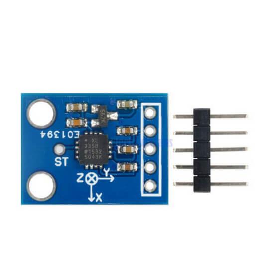Módulo GY-61 Acelerômetro de 3 eixos - ADXL335