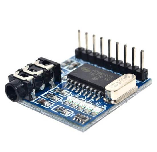Módulo Decodificador DTMF MT8870
