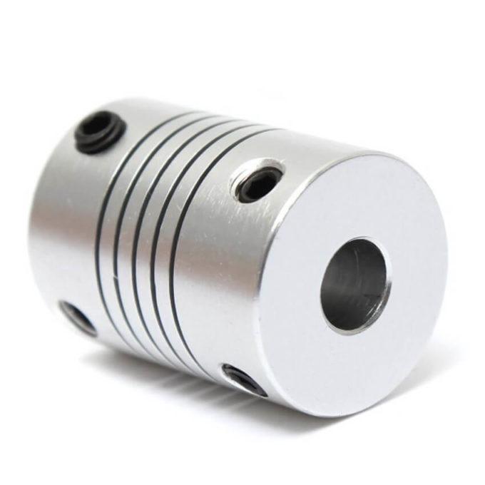 Acoplamento Flexível para Motor de Passo 5x8mm - Impressora 3d