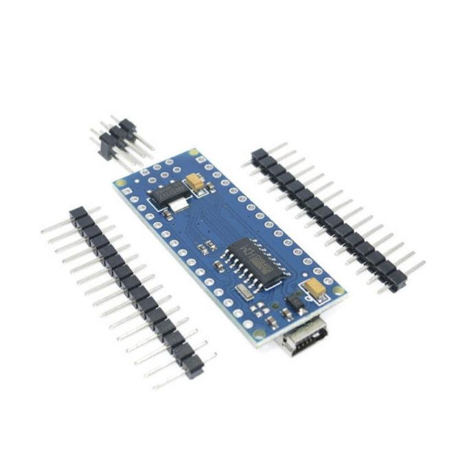 Arduino Nano V3.0 com Pinos Separados + Cabo USB