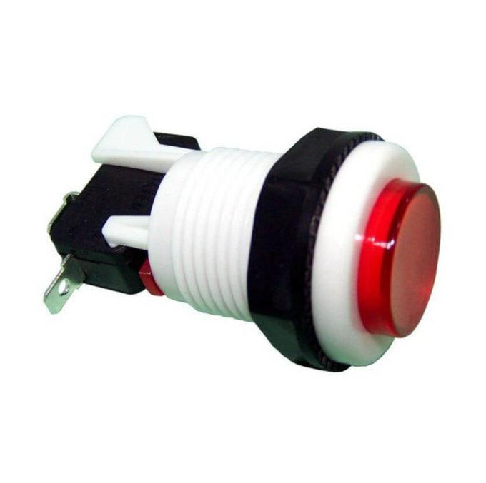 Chave Botão PBS-29 - Vermelha