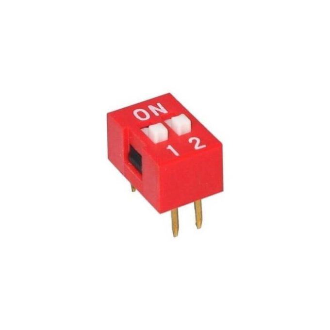 Chave DIP Switch 2 Vias