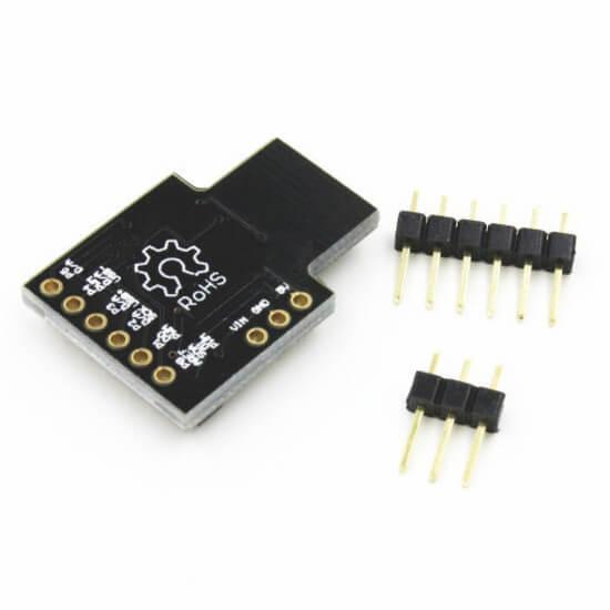 Placa de Desenvolvimento para Micro Attiny85 USB