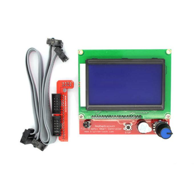 Display Gráfico LCD 128×64 para Impressora 3D RAMPS RepRap