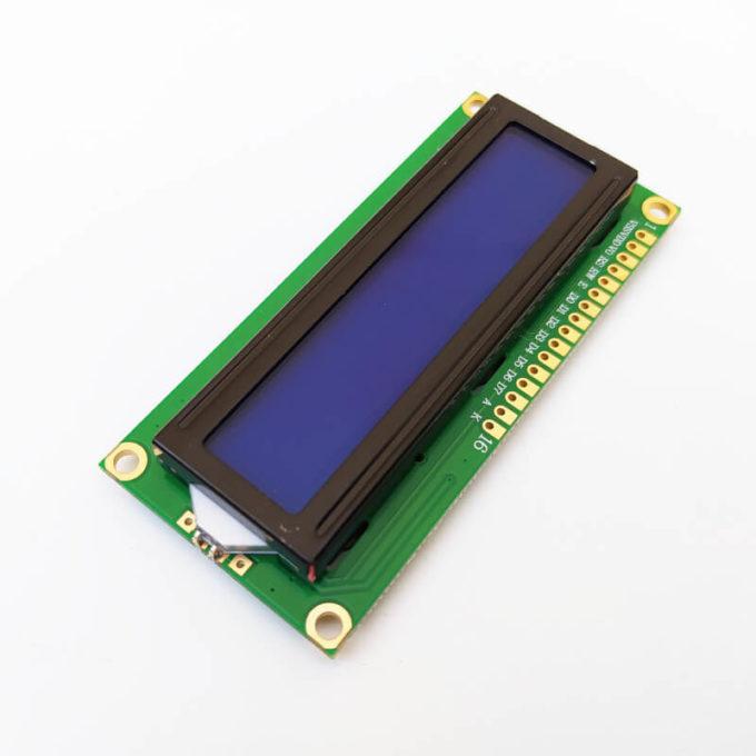 Display LCD 16x2 com Backlight Azul/Branco