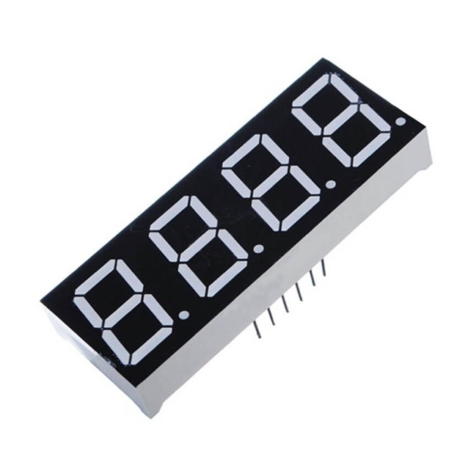 Display Led 7 Segmentos 4 Dígitos - Cátodo