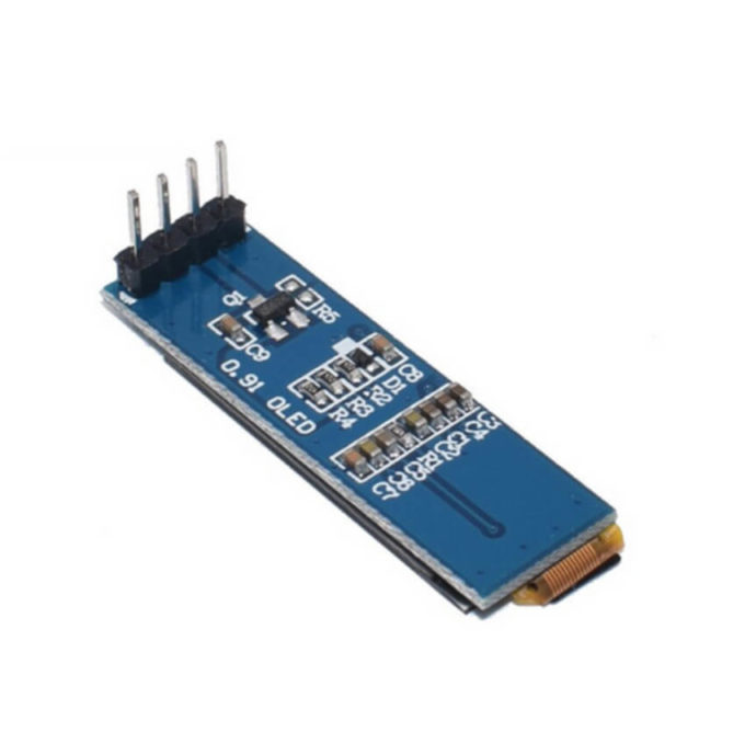 "Display OLED 0.91"" I2C 128x32 - Azul"