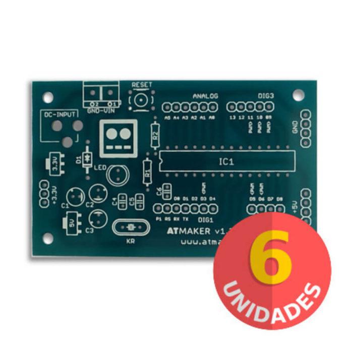 Kit de 6 Placas Standalone Atmaker 1.3