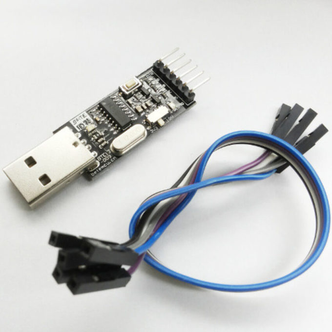 Módulo CH340G USB para TTL - Com chave para 3 ou 5v