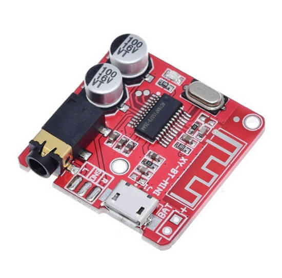 Módulo Decodificador e amplificador XY-BT5W Bluetooth