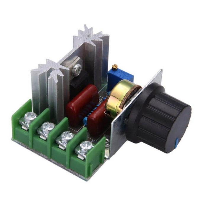 Módulo Dimmer AC 2000W 220V Regulador de Tensão