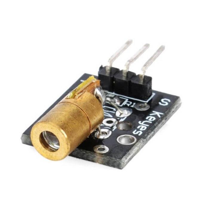 Módulo Diodo Laser 5V - 650NM