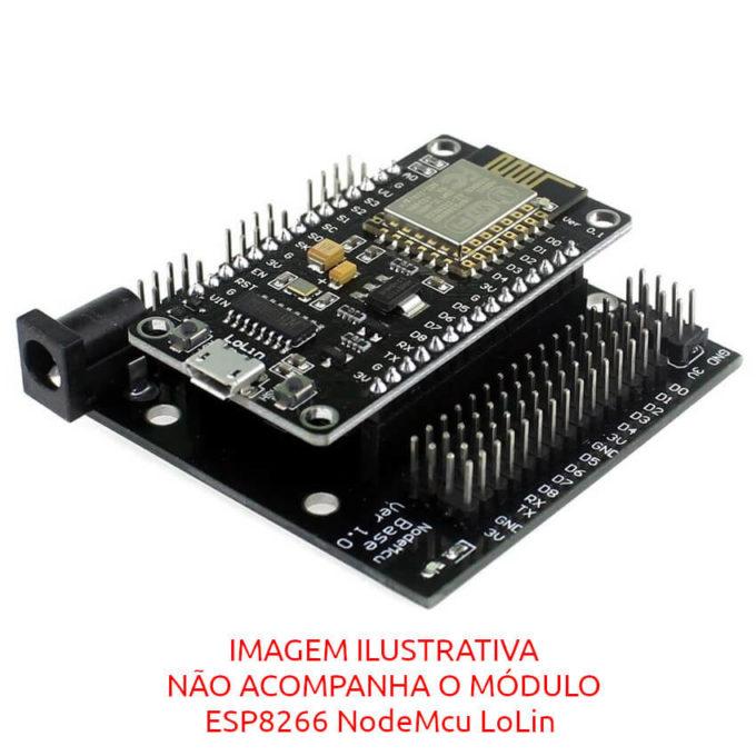 Placa Base para ESP8266 NodeMcu LoLin ESP-12E - CH340G