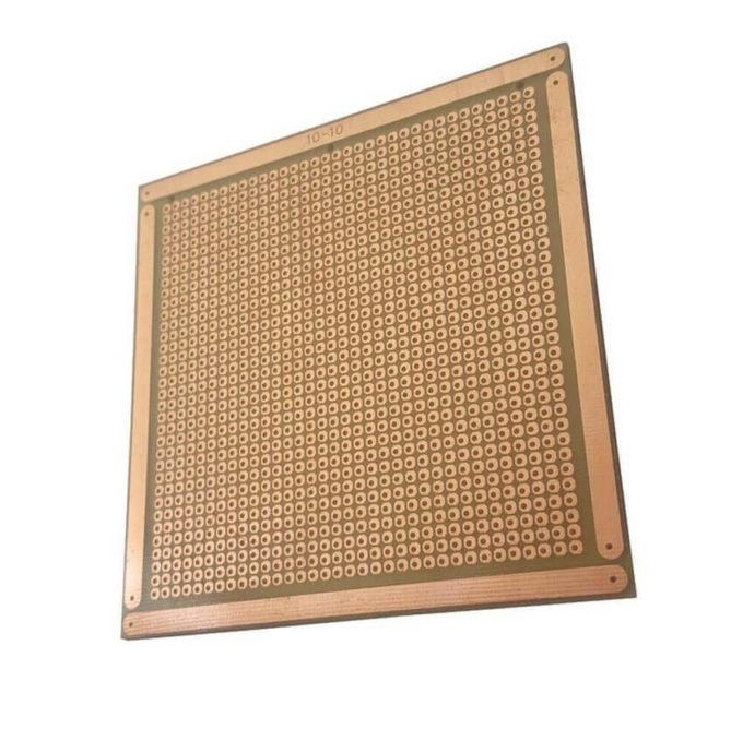 Placa de Circuito Impresso Ilhada - 10x10 cm