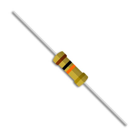 Resistor 10K ohms 1/4W