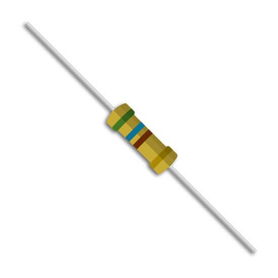Resistor 560 ohms 1/4W