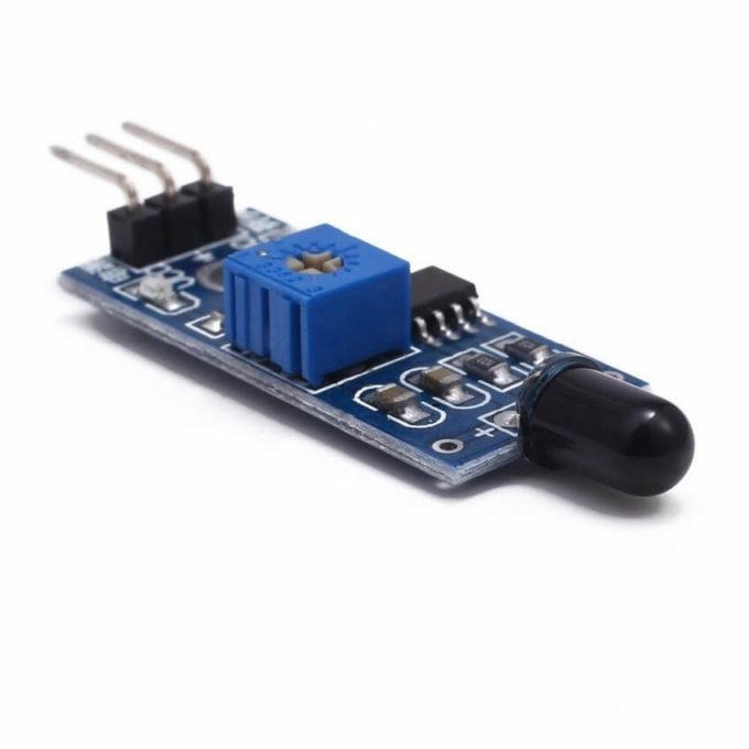 Sensor de Chama/Fogo 760 a 1100 nm