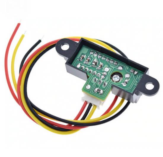 Sensor Distância - Sharp GP2Y0A21YK0F - 10 a 80 cm