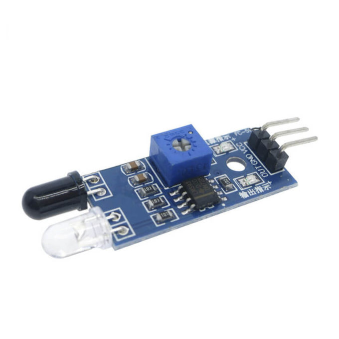 Sensor de Obstáculo Reflexivo Infravermelho - Lm393