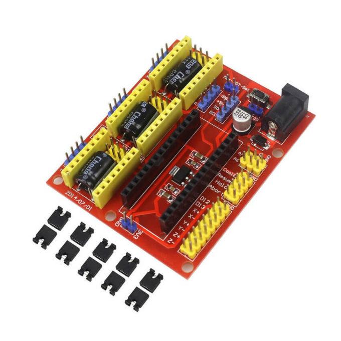 Shield CNC V4 para Arduino Nano
