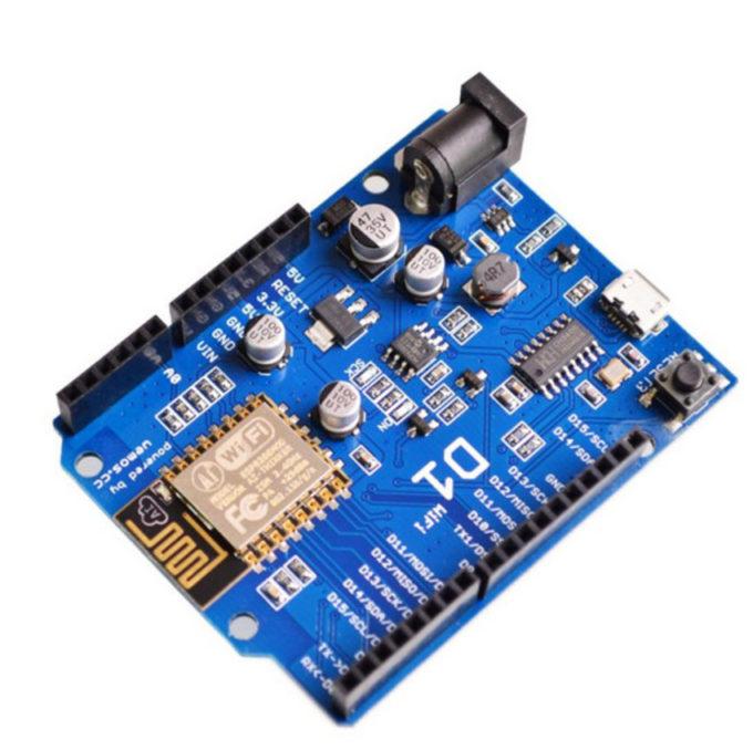 Wemos D1 Wifi ESP8266 ESP-12E - Compatível C/ Ide Arduino