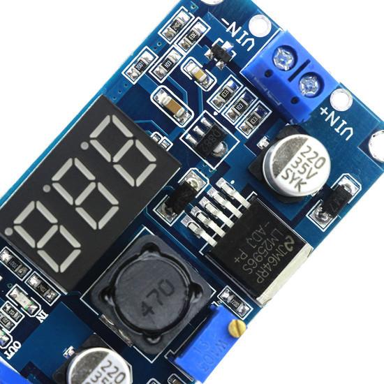 Módulo LM2596 Regulador de Tensão com Display