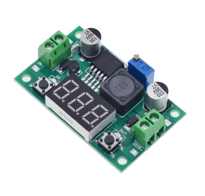 Módulo Regulador de Tensão com Display LM2596