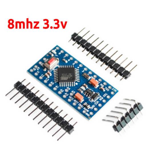 Arduino Pro Mini Atmega328p 8mhz 3.3v