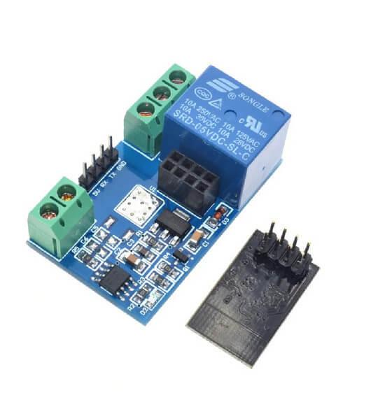 Módulo Relé Wi-fi Para Esp-01 Esp8266