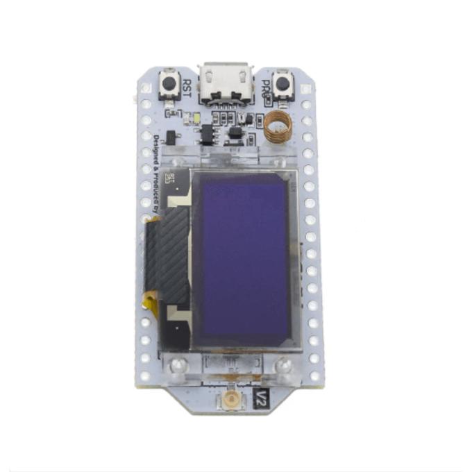 """Placa LoRa Wifi ESP32 - 868/915Mhz com OLED 0,96"""""""